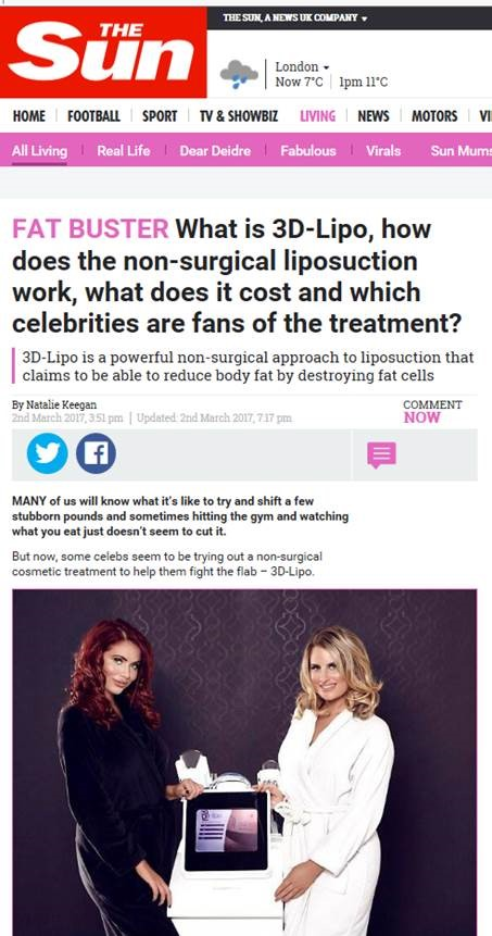 What is 3D lipo The Sun