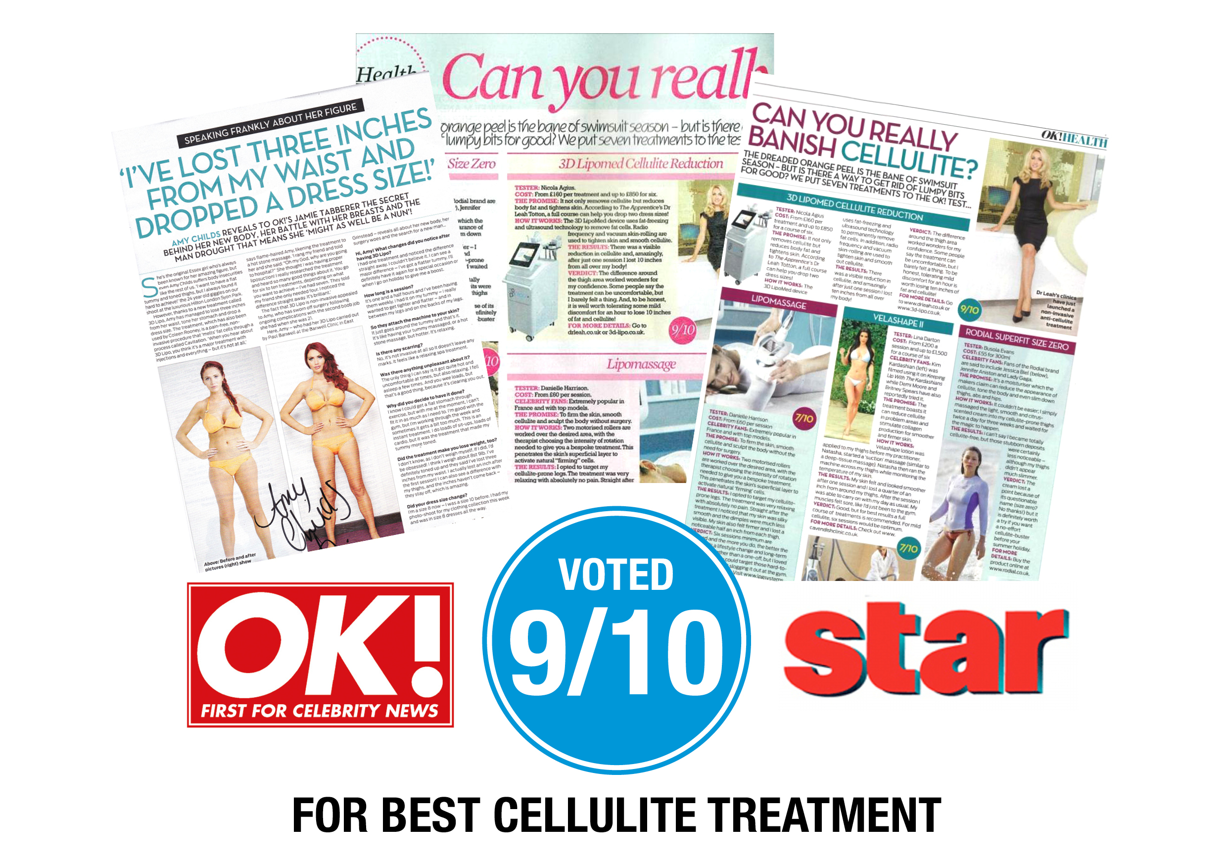 3D Lipo Cellulite treatment in the news